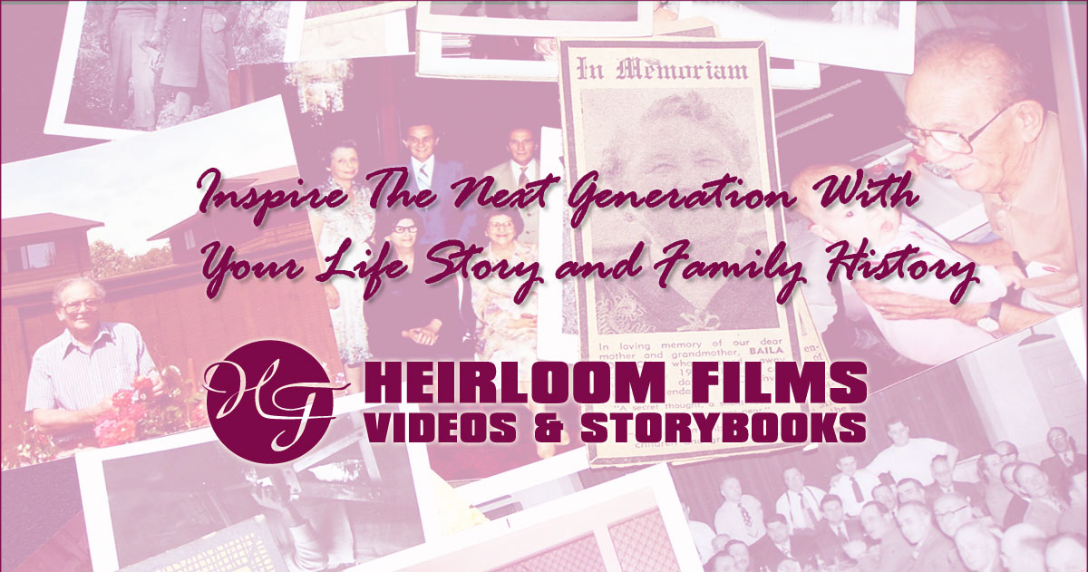 Do You Want To Share Your Life Story and Family History?