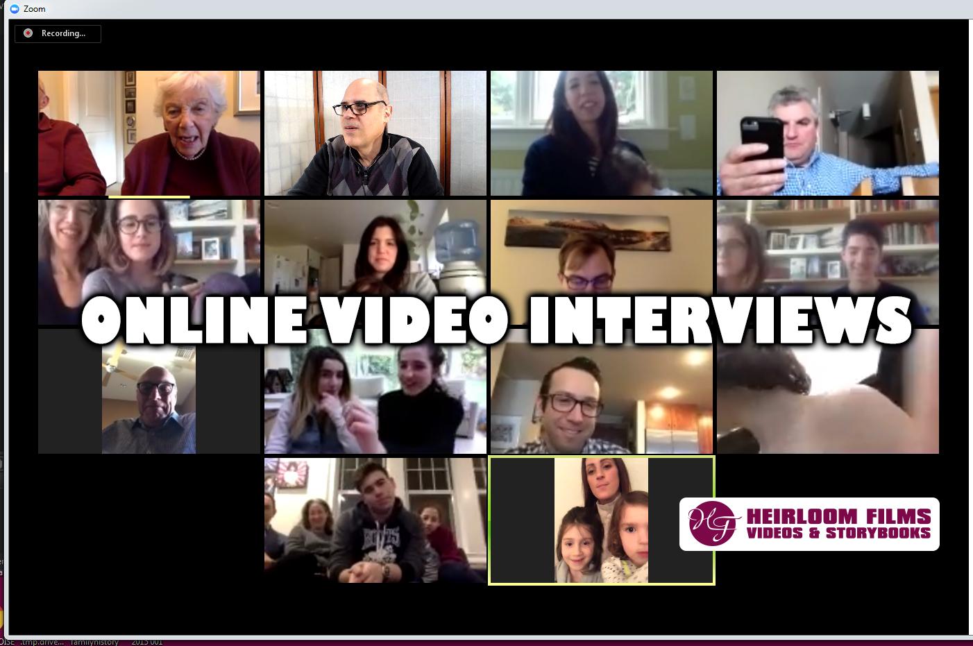 Online Video Interviews