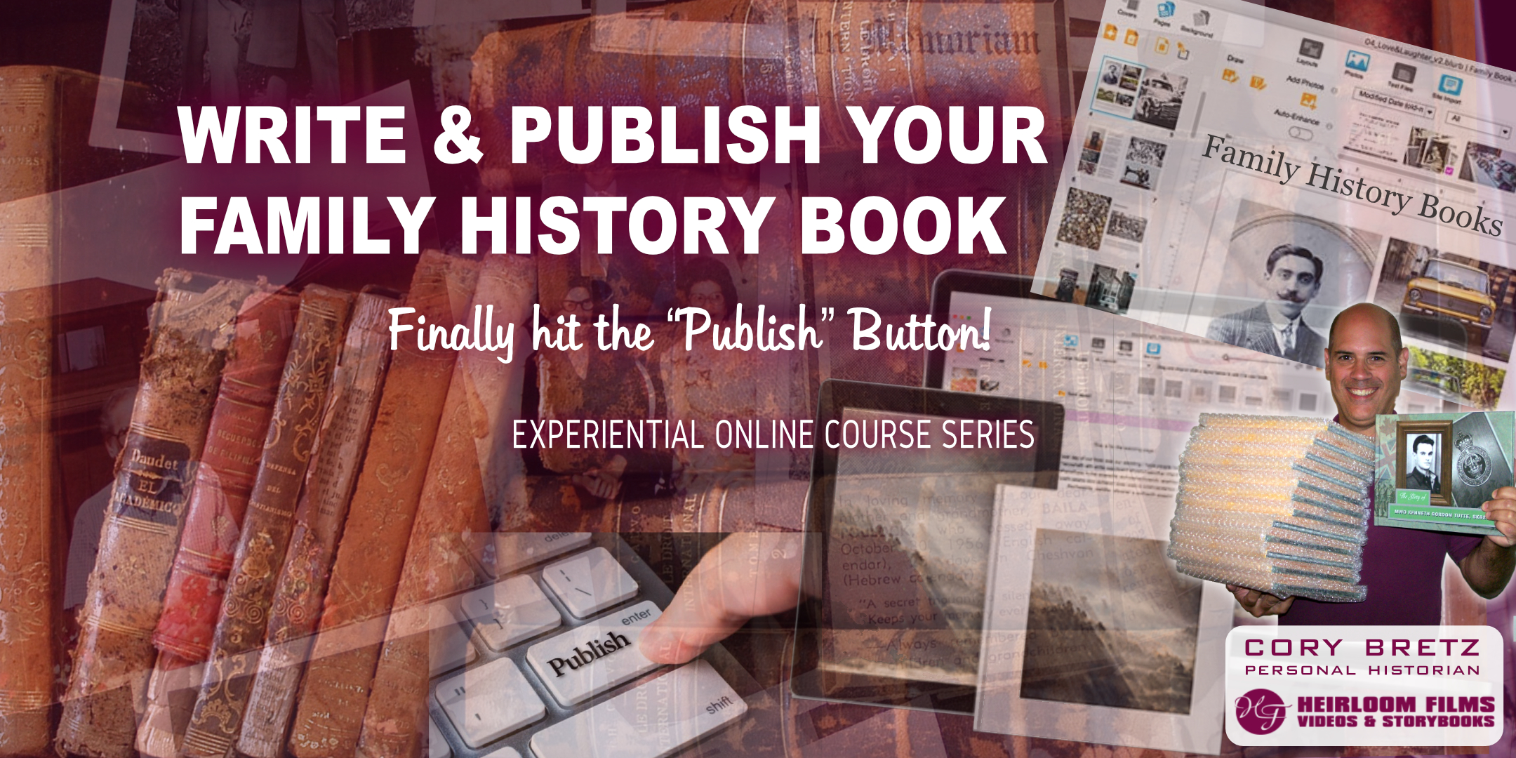 Publish your family history book