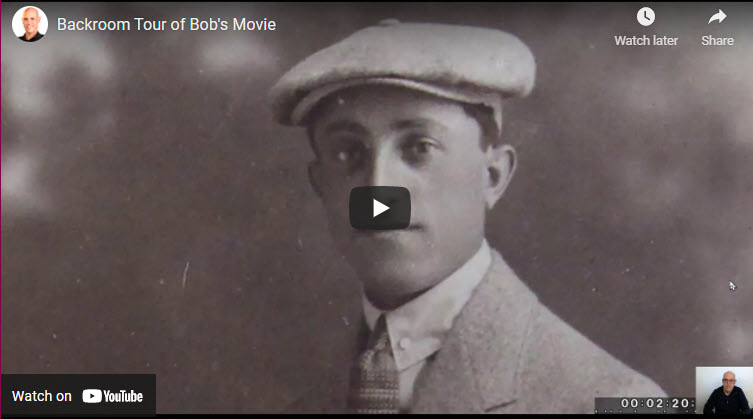 Backroom Tour of A Family History Film